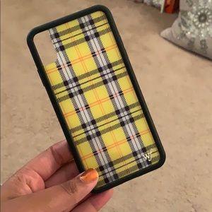 Wildflower Accessories - Yellow Wildflower iPhone XS Max Case